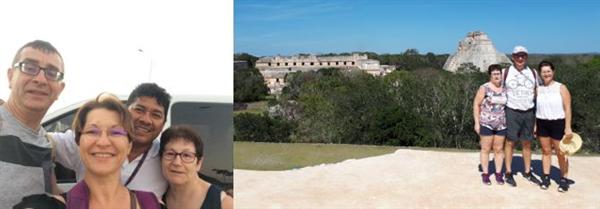 Circuit au Yucatan avec guide francophone