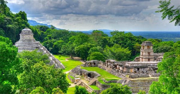 decouvrir Palenque pendant son circuit au mexique