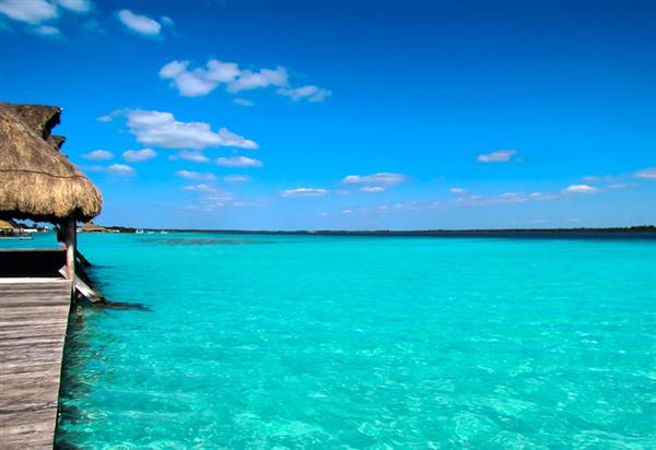 découvrir la lagune de Bacalar lors d'un voyage au Mexique