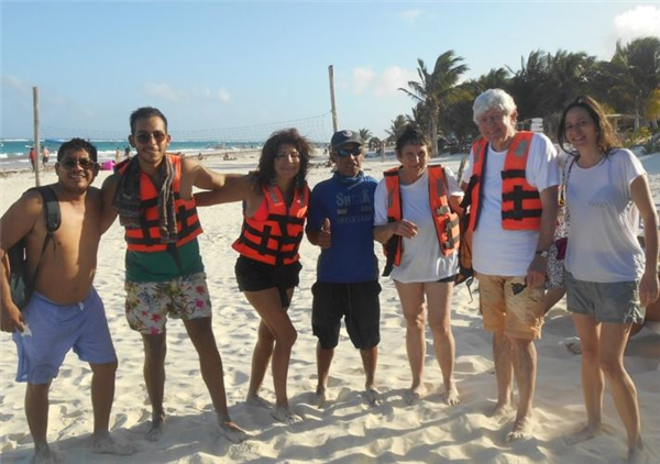 circuit au Yucatan avec un guide chauffeur francophone privé