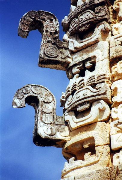 structure en stuc de Ek Balam