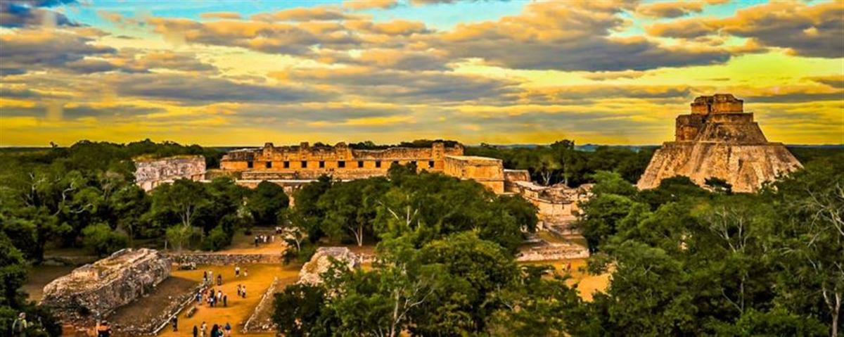 visiter Uxmal pendant son circuit au Mexique