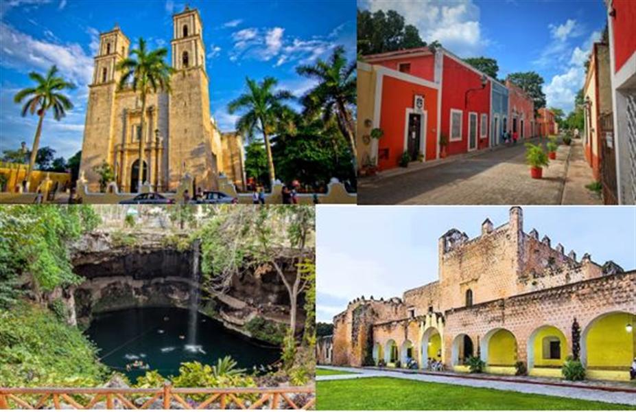 A voir a Valladolid au Mexique