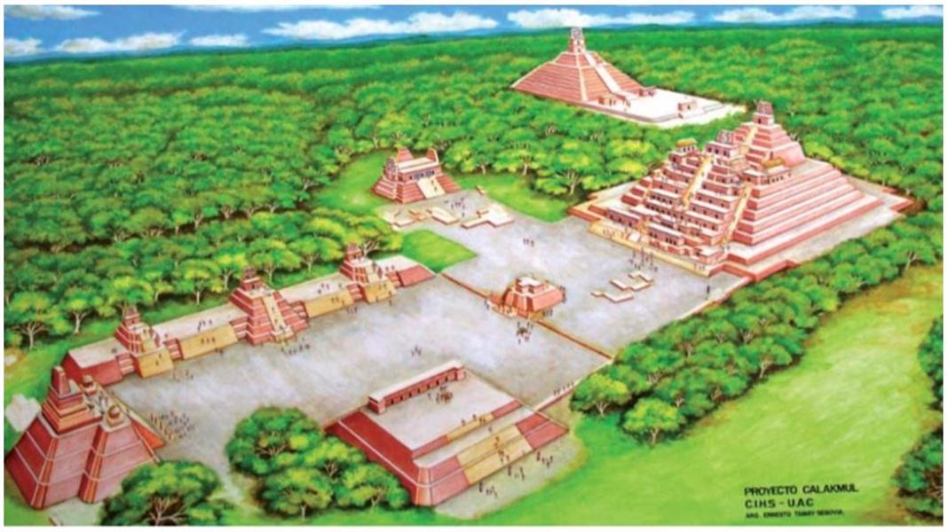 voyager au mexique pour découvrir calakmul