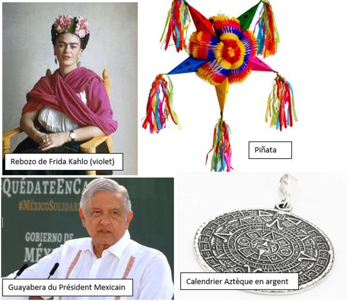guayabera et pinatas au Mexique