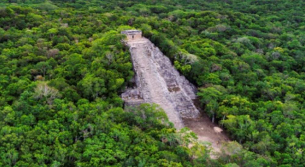 explorer coba pendant son circuit au Mexique personnalise