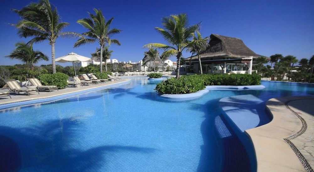 hotel de luxe au Mexique