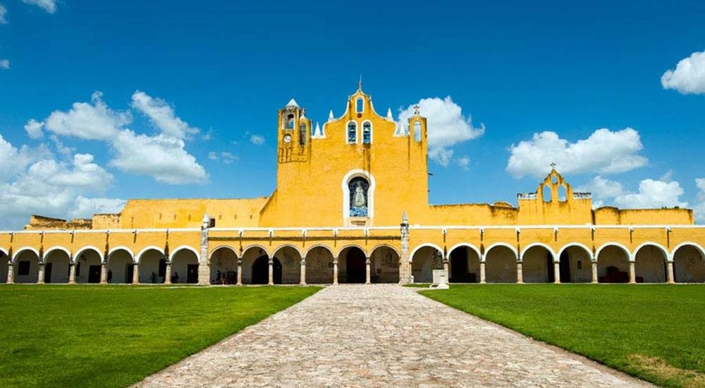 couvent d'izamal au Mexique
