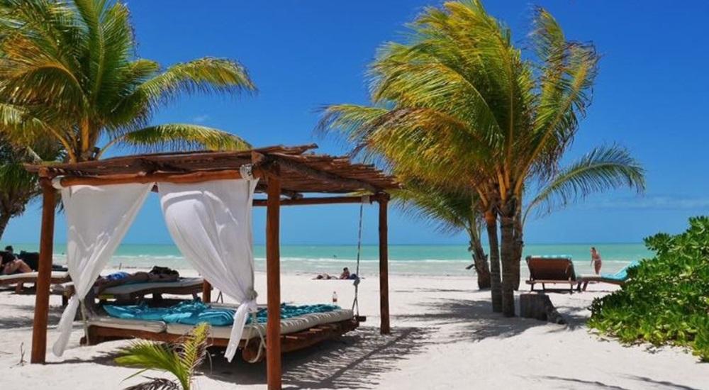 plages d'Holbox au Mexique