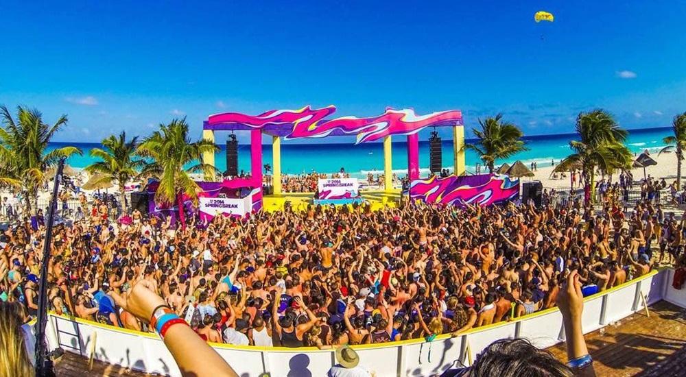 Photo du Circuit au Mexique : Springbreak Cancun 2018