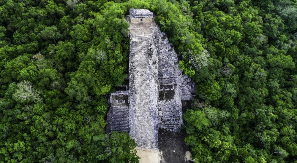 visiter coba lors d'un circuit au Yucatan