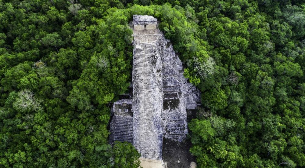 faire du vélo à Coba avec ses enfants pour découvrir le site archéologique du Mexique