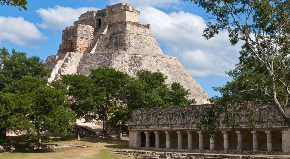 visiter uxmal lors d'un voyage au Mexique en famille