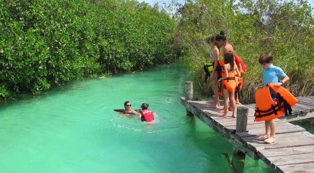 découvrir Sian Ka'an pendant son voyage de noces au Mexique