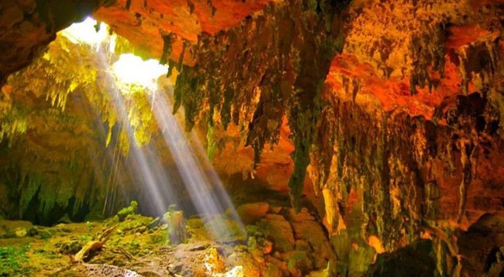 découvrir les grottes de loltun dans le Yucatan