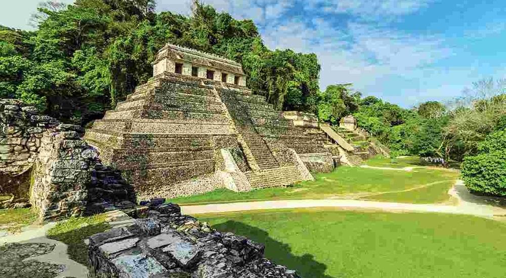 temple de palenque au chiapas