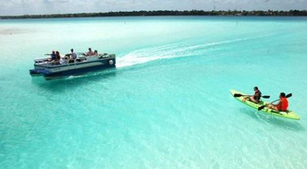 lagune de bacalar en voyage au mexique