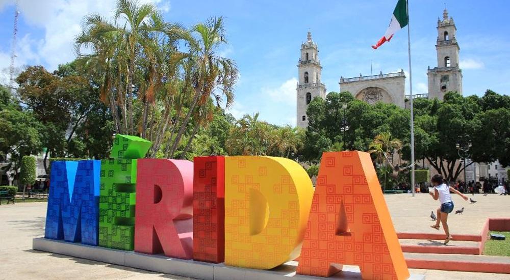 passage a merida lors d'un autotour sur mesure au Mexique