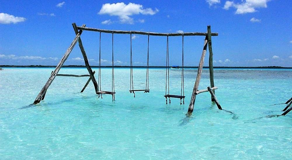 voir la magnifique lagune de Bacalar en voyage au Mexique