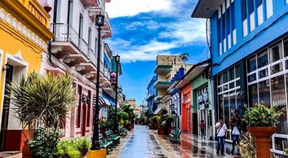 rue colorée de sancti spiritus