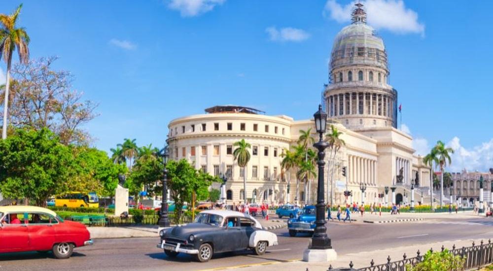 visiter le capitole a Cuba