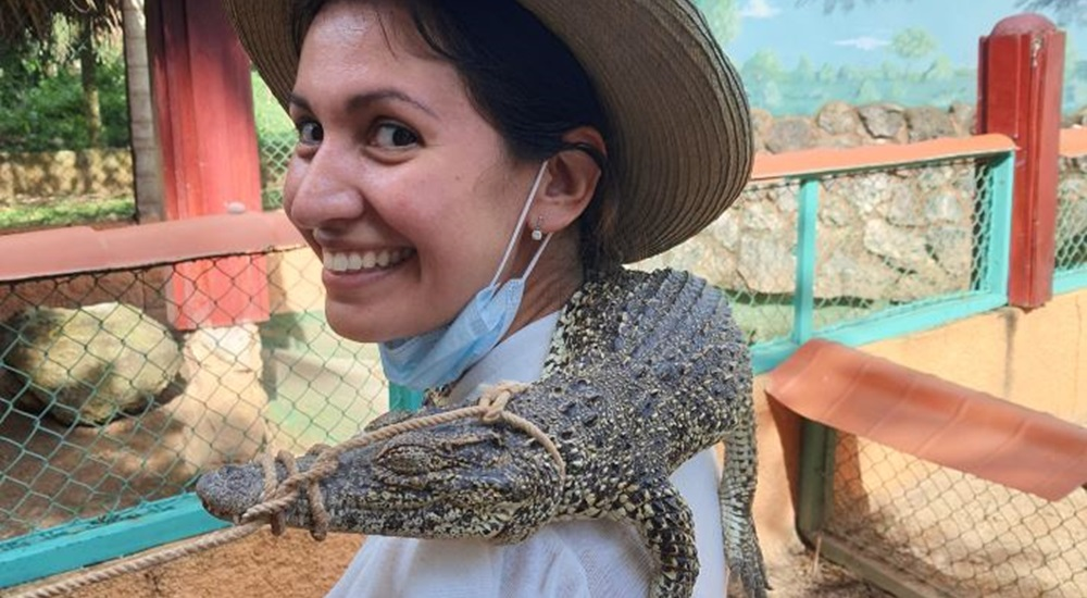 ferme d'élevage de crocodiles a boca de guama
