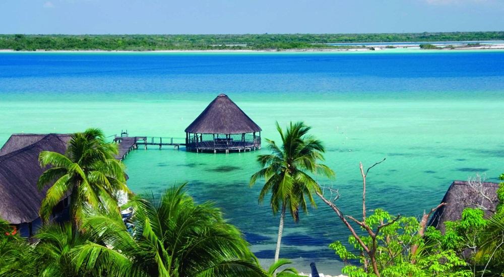 lagune de bacalar au Mexique