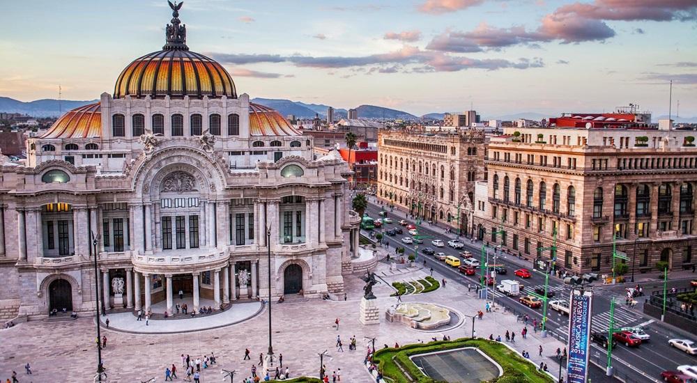 bellas artes au Mexique