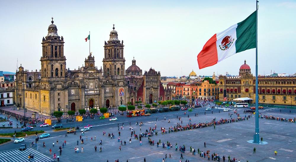 découvrir le zocalo de Mexico
