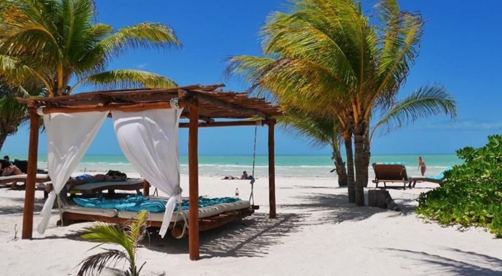 se détendre à Holbox après avoir visiter le Yucatan