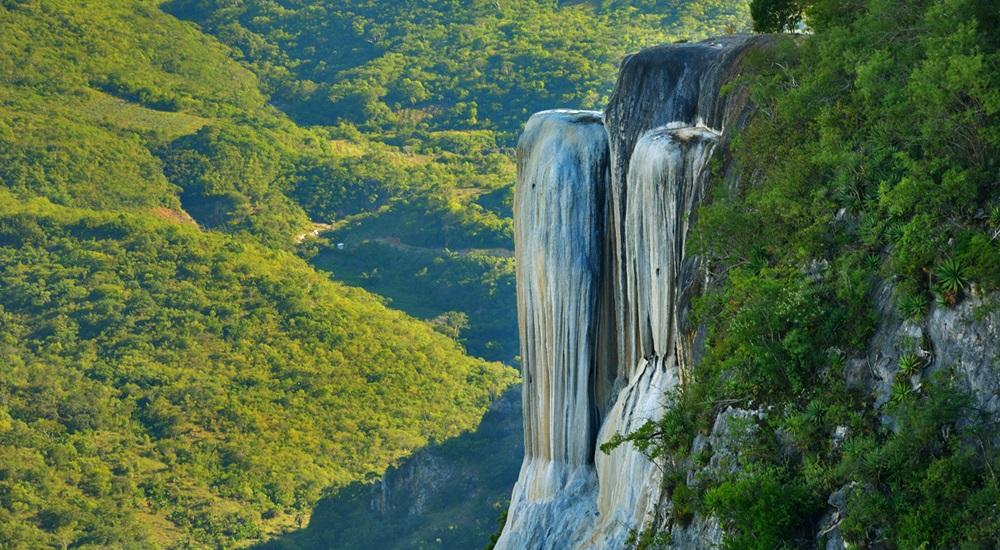 visiter Hierve el Agua en voyage au Mexique