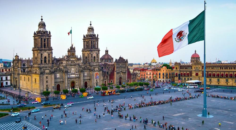 zocalo de Mexico city