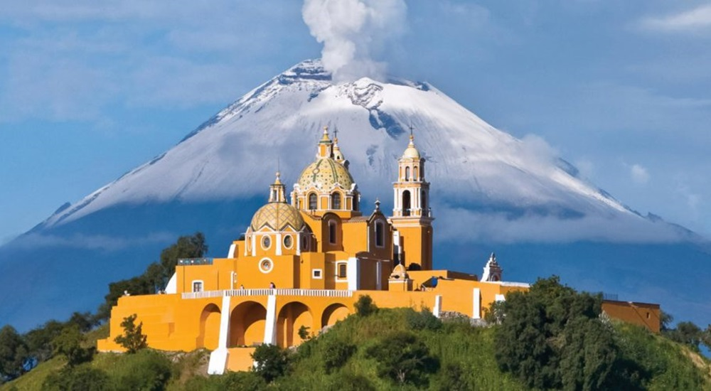 cholula au Mexique