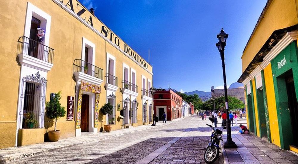 ruelles colorées de Oaxaca au Mexique