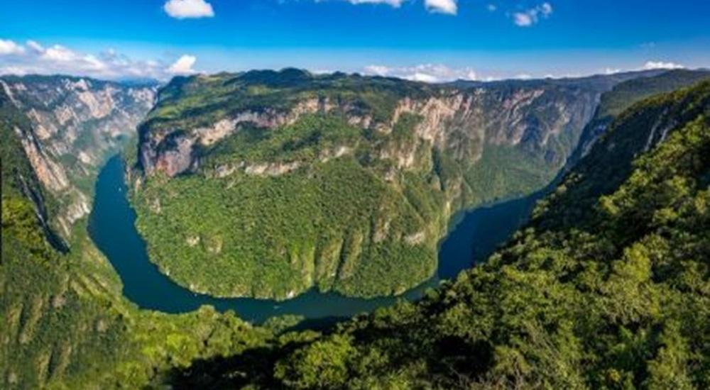 canyon del sumidero au Mexique