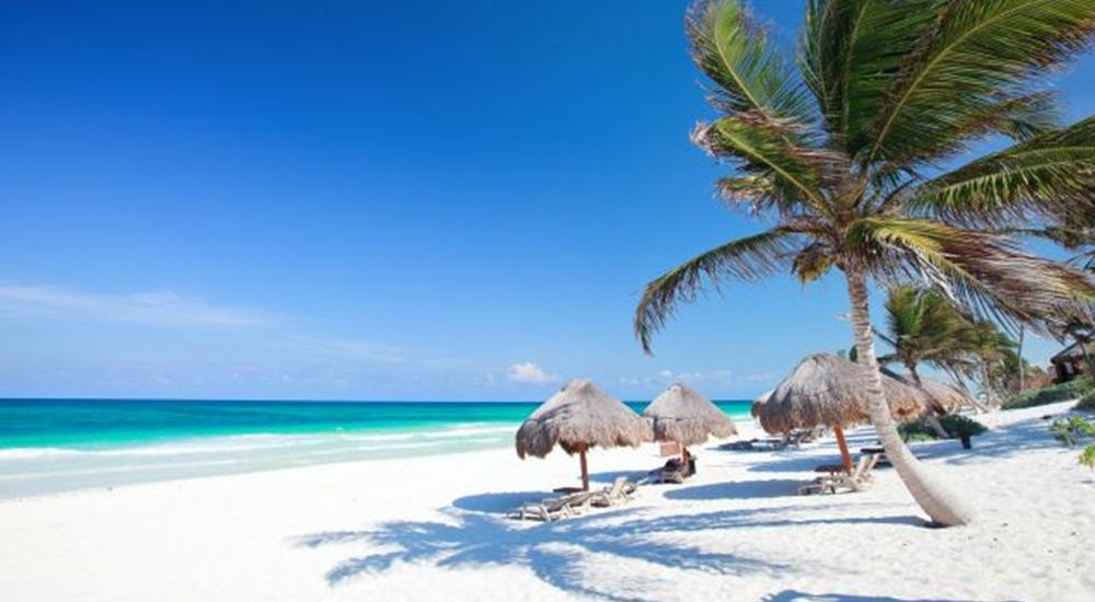 plage paradisiaque pour finir un voyage au Mexique