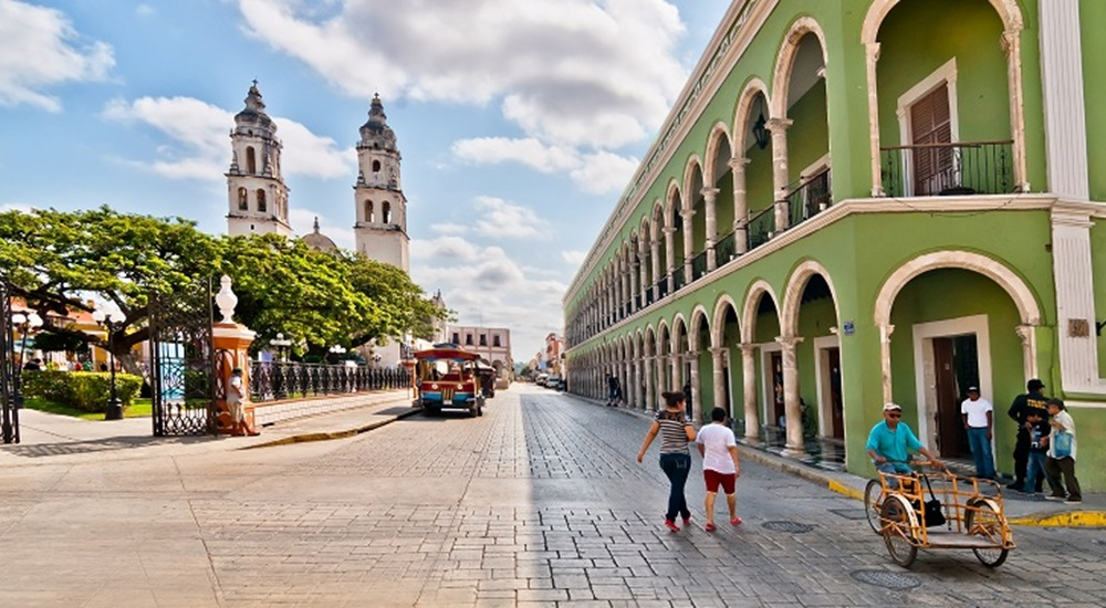 visiter campeche au Mexique